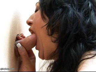 mature old women giving blind blowjob