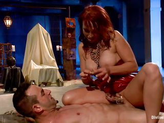 hot milf punishing a naughty boy