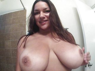 busty monica showing her giant boobs