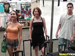 girls showing their boobs for money
