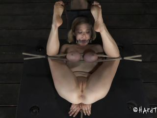 hard tied and punished harder