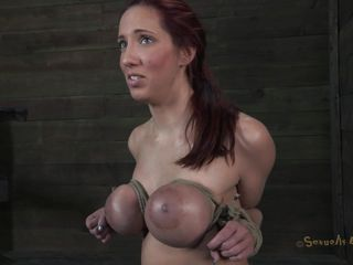 extreme boobs squeezing
