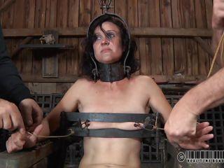 exploited in a barn