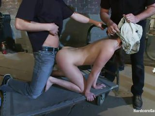 her beautiful ass gangbanged
