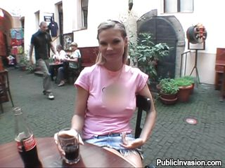 very hot boobs czech chick