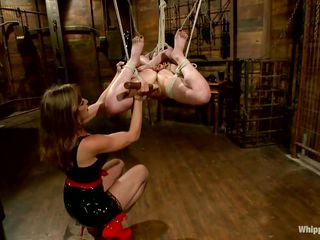 mistress shows no mercy to her slave