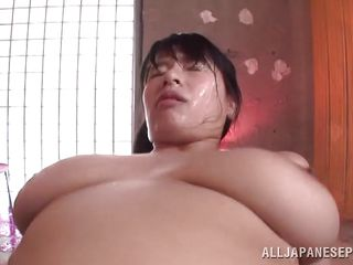 fucked from behind and loads of cum