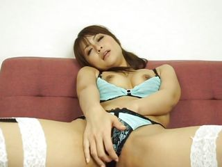 horny asian mom playing with toys
