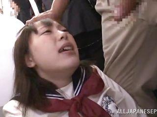 next stop, public blowjob by schoolgirl