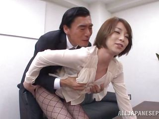 japanese teacher sits on principal's face
