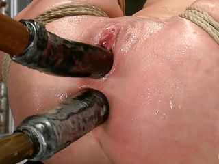 filling up her tight holes