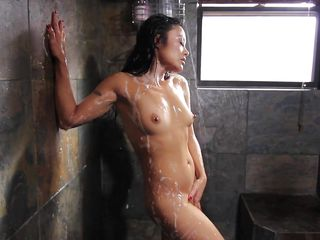 getting dirty under the shower