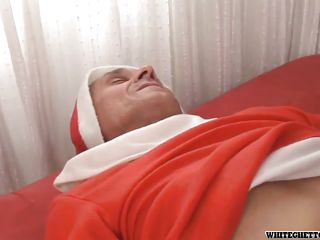 old santa has a gift for his girl @ i like dirty old men #05