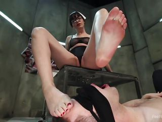 obeying at her feet!