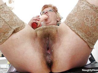 insanely horny old nurse
