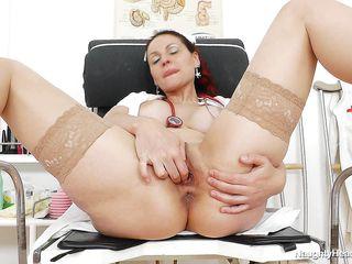nurse takes a naughty break