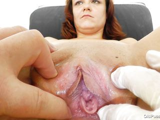 old pussy gaped by her doc