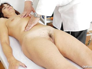 old pussy needs an examination too