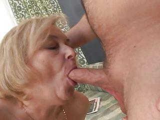 relaxing with grandma @ i wanna cum inside your grandma #04