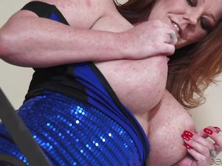 seasoned slut shows off her big boobs @ horny grannies love to fuck #05