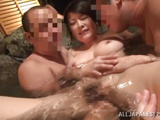 hot gangbang in the onsen