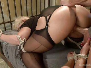 slutty blondes love dick and bondage