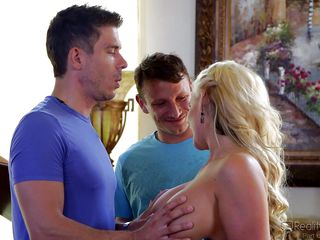 phoenix marie enjoys two cocks @ dp my wife with me #05