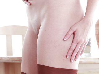 my girlfriend katie masturbating her tight pussy