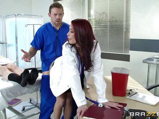 male nurse fucking sexy doctor from behind