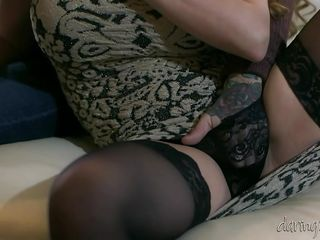 lustful cathy gets loose