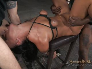 sexy milf gets humiliated and tag teamed