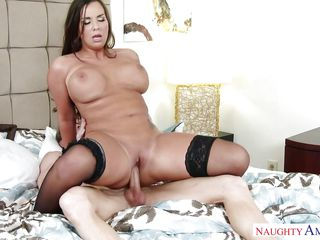 stunning wife gives reverse cowgirl a try