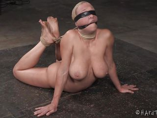 nylon fetish and rope bondage
