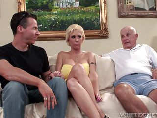 money is why he sits and watches @ lifestyles of the cuckolded #09