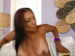 busty brunette milf take a hard meat from behind