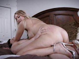 blonde milf is crazy for a big cock @ mommy swap