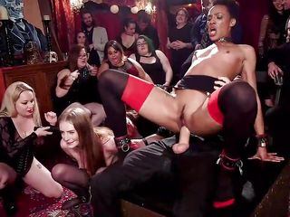 the wildest sex party ever