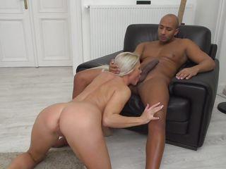 blonde milf rides a bbc