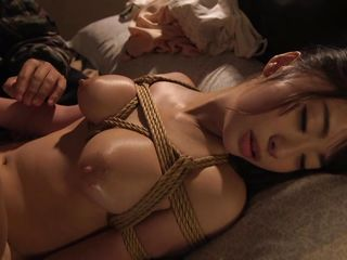 saki is bound and fucked by her master