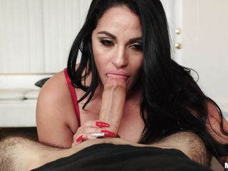 lady with amazing big tits sucking me dry