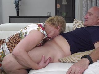 old rina sucks her husband