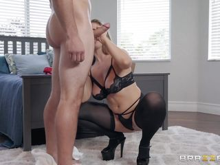 sexy milf needs a huge cock in her mouth