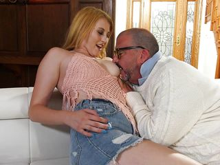 her peachy pussy is so fresh! @ horny old men