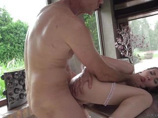 let the neighbours watch our dirty threesome @ rocco sex analyst #04