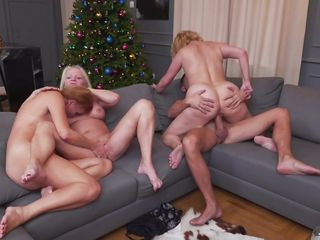 christmas orgy with slutty old women