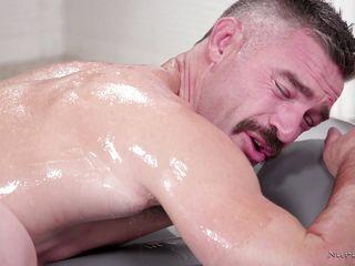 mandy gives a wet massage