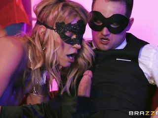 masquerade turned into a sex party
