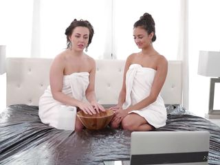 lesbian massage sessions are always treat to watch