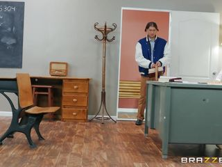 horny teacher fucks with her students