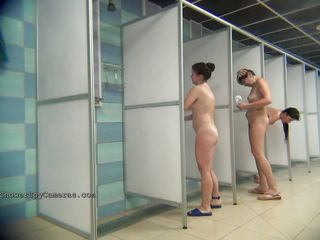 hidden camera in the public shower